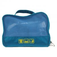 Buy cheap Blue Water Proof Ladies Canvas Travel Bag / Clothes Packing Bags product