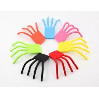 Buy cheap Flexible Finger Shape Silicone Phone Holder Silicone Mobile phone Holder stand from wholesalers
