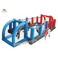 Buy cheap Commercial Inflatable Sports Games Double Color / Giant Inflatable Soccer Filed from wholesalers