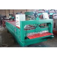 Buy cheap 1250 MM Feeding Width Metal Roof Roll Forming Machine 1.5 Inch Chain Drive from wholesalers