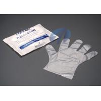 Buy cheap High Density Disposable PE Gloves Polyethylene For Baby Care / Pet Care from wholesalers