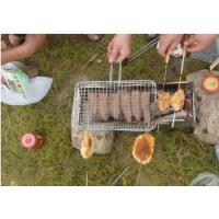 Buy cheap Portable Barbecue Grill Wire Mesh , Outdoor Barbecue Grill Netting For Roast Fish from wholesalers