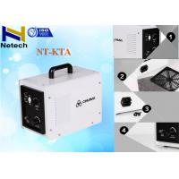 Buy cheap 220V Odor Removal 3g - 5g Portable Ozone Generator For Hotel Room Kill Bacteria from wholesalers