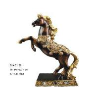 Buy cheap Home Decoration Polyresin Horse Figurine (D24-71186) from wholesalers