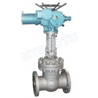 Buy cheap PN 0.25 - 6.4 Mpa Electric/ Manual Flanged Gate Valve / Sluice Valve for Hydro Power Station from wholesalers