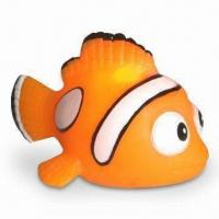 Buy cheap Vinyl Flashing Clown Fishes for Children Bathing Toy, Customized Designs are Welcome from wholesalers
