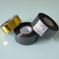 Buy cheap HC3 Type 30mm Width 120M length Black Hot Stamping Ink Ribbon from wholesalers
