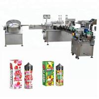 Buy cheap 5-35 bottles/min Automatic Liquid Filling Machine For 10ml / 30ml Glass Bottle Dropper from wholesalers