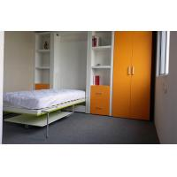 Buy cheap Single Folding Wall Bed Multifunctional Green and Orange for Kids Room from wholesalers