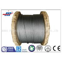 Buy cheap Anti Rotation High Tensile Wire Rope , Steel Wire Cable For Heavy Machinery from wholesalers