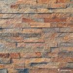 Buy cheap Natural stone Slate Culture Stone Brown Copper Quartzite Cultured Stone from wholesalers