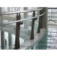 Buy cheap Tempered / toughened glass for porch railing, porch fence, porch balusrtades, veranda fence, veranda railing from wholesalers