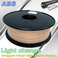 Buy cheap ABS Light Change Color Changing Filament Stable In Performance product