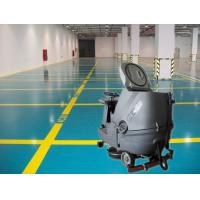 Buy cheap Cleaning Company Washer Scrubber Dryer Machines , Hard Ground Walk Behind Floor Scrubbers from wholesalers