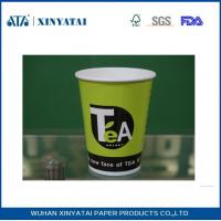 Buy cheap Logo Printed Paper Coffee Cups for Hot Drink Coffee or Tea 6oz , Paper Espresso Cups from wholesalers