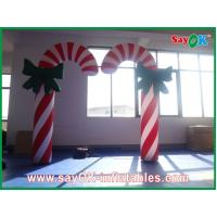 Buy cheap Custom Durable Advertising Inflatable Candy Cane For Christmas Holiday from wholesalers