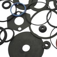 Buy cheap Custom-make EPDM/MBR/CR material heat resistance pipe rubber gasket from wholesalers