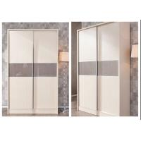 Modern wardrobe armoire closet aluminum sliding hotel for Stand alone wardrobe