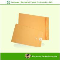 Buy cheap Reclosable Clasp Kraft Paper Envelopes from wholesalers