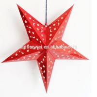 Buy cheap Hot sale chinese handmade paper star paper lanterns from wholesalers