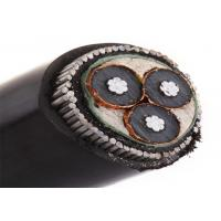 Buy cheap YJV22 / YJV32 underground steel armored cable for application 33kv xlpe power cable from wholesalers
