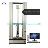 Buy cheap 50KN Electronic Universal Testing Machine Tensile Testing Machine Rubber Lab Equipment from wholesalers