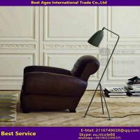 Buy cheap European Style Decorative Black Metal Adjustable Office Floor Lamp from wholesalers