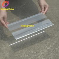 Buy cheap PMMA material linear fresnel lens,acrylic fresnel lens 230*150mm with focal length 120 from wholesalers