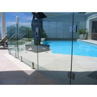 Buy cheap Baby Guard Rail DIY Glass Pool Fencing With Tempered Glass Gate from wholesalers