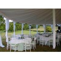 Buy cheap 25x40m Fireproof Aluminum Structure White Wedding Event , Outdoor Party Tent from wholesalers