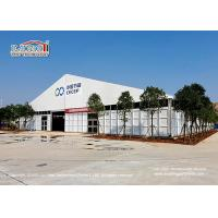 China Big clear span aluminum and PVC tent Epidemic Prevention Disinfection Tent, TentEpidemicDisease Disinfection Tent on sale