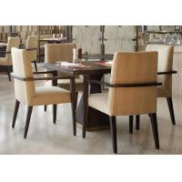 Buy cheap 5 Star Hotel Modern Wooden Dining Room Tables , High End Restaurant Furniture from wholesalers