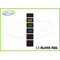 Buy cheap Reversible Temperature Labels Multi Temp LC Liquid Crystal Thermometer Strips Forehead Use from wholesalers