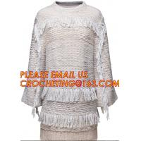 Buy cheap WOMEN CASHMERE SWEATER, FLAT KNITTING, CABLE, INTARSIA, PRINTING, SEWING, CRYSTAL from wholesalers