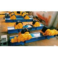 Buy cheap 40 Ton Rubber Coated Tank Turning Rolls With Foot Pedal Control from wholesalers
