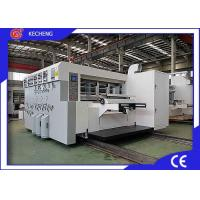 Buy cheap 1628 Automatic Printer Slotter Die Cutter / Die Cutting Machine For Cardboard from wholesalers