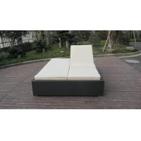 Buy cheap PE Rattan Adjustable Lounge Chair , Modern Foldable Chaise Lounge from wholesalers