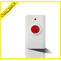 China Intelligent Alarm System Wireless Panic / Emergency Button With 23A Battery on sale