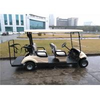 Buy cheap Golf Courses Battery Operated Electric Golf Carts With EEC Certificate For 4 Passenger from wholesalers