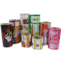 Buy cheap Plastic Printed Laminated Rolls / Film Food Grade For Food Bags product
