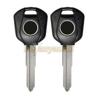 Buy cheap Brass Blade Motorcycle Key Shell Blanks Silver Color Smooth Surface No Transponder product