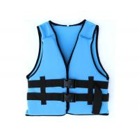 Buy cheap Comfortable Blue Watersport Life Jackets Neoprene Swimming Life Jack For Protection from wholesalers