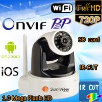 Buy cheap 720P HD network ip camera H.264 support Day&Night surveillance camera wireless system from wholesalers
