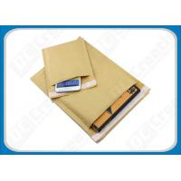 Buy cheap Eco-Lite Fully Laminated Kraft Bubble Mailers , Self-seal Mailing Bubble Envelopes from wholesalers