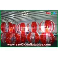 Buy cheap PVC TPU Bubble Inflatable Sports Games Football Soccer Bumper Ball For Match / Playing from wholesalers