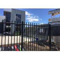 Buy cheap Steel Tubular Fence Panels 1.2m*2.4m Rail 40mm *2.00mm 25mm*1.2mm Spacing 100mm silicon bronze& stainless steel welding from wholesalers