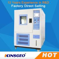 Buy cheap 150L Programmable Temperature And Humidity Controlled Chambers For Industrial from wholesalers