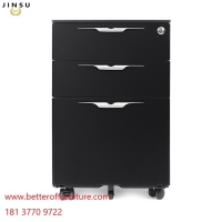 Buy cheap Professional design metal 3 drawer mobile pedestal with 5 casters for office desk from wholesalers
