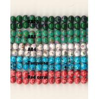 Buy cheap Custom Magnetic Therapy Jewelry Marbleized Beads Rare Earth Magnet Composite from wholesalers