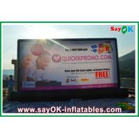 Buy cheap PVC Inflatable Movie Screen Inflatable Billboard L9M x H5M For Advertising from wholesalers